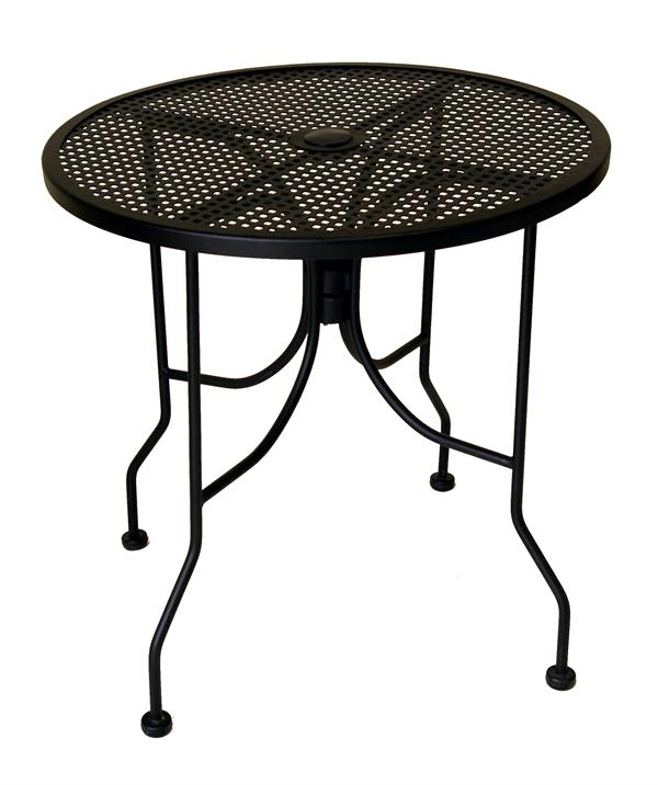 mesh top outdoor table p
